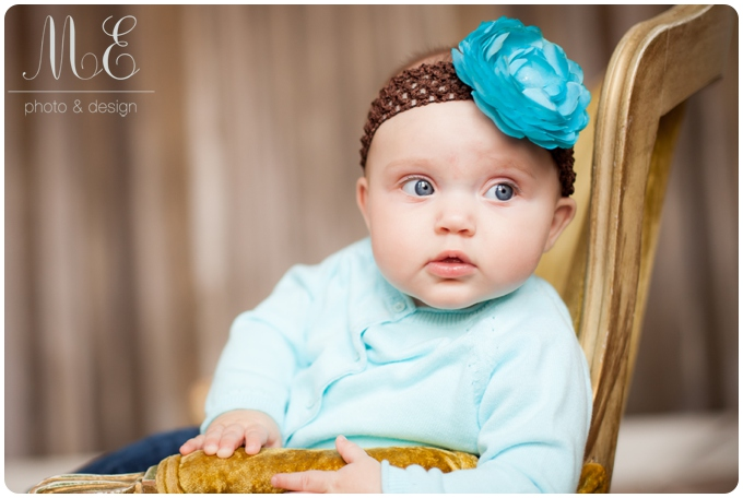 Media PA Baby Portrait Photographer I Bundle of Joy Plan I Josie 6 Month Session