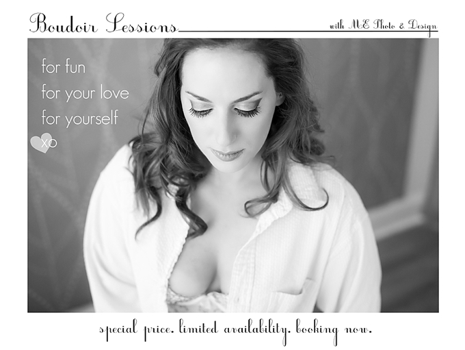 Boudoir Photo Sessions- Valentines Special