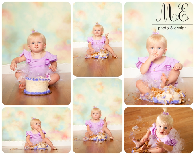 Philadelphia PA Cake Smash First Year Baby Photography - ME Photo ...