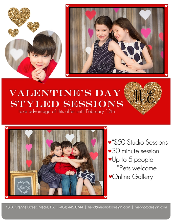 Valentine's Day Sessions ME Photo & Design