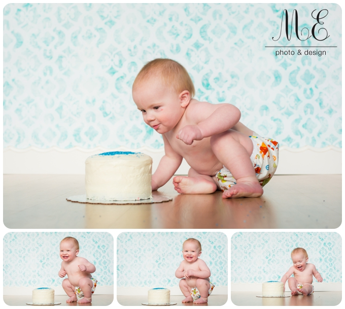 Philadelphia Cake Smash Photography ME Photo & Design