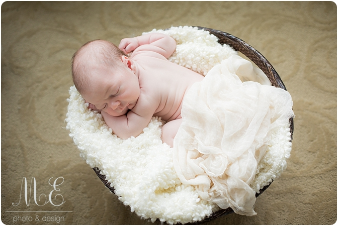 Main Line PA Newborn Photographer: The Durante Family