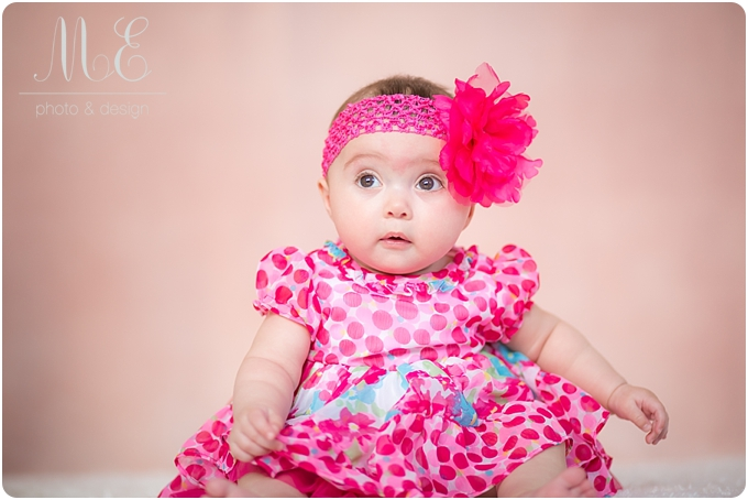 Media PA Children's Portrait Photographer- Jocelyn 6 Months