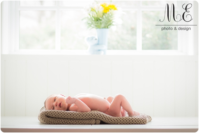 Swarthmore, PA Newborn Photographer I Benjamin Newborn Session