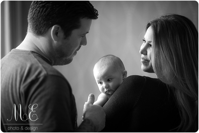 Media PA Baby Portrait Photographer I Vivienne 4 Month Session