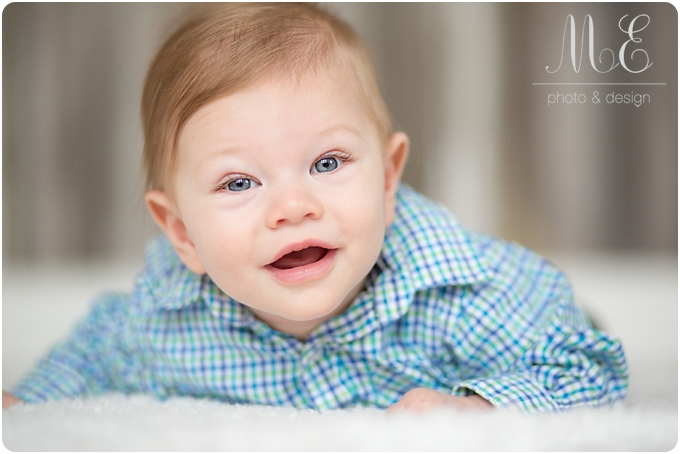 Main Line PA Baby Portrait Photographer I Christopher 6 Month Session