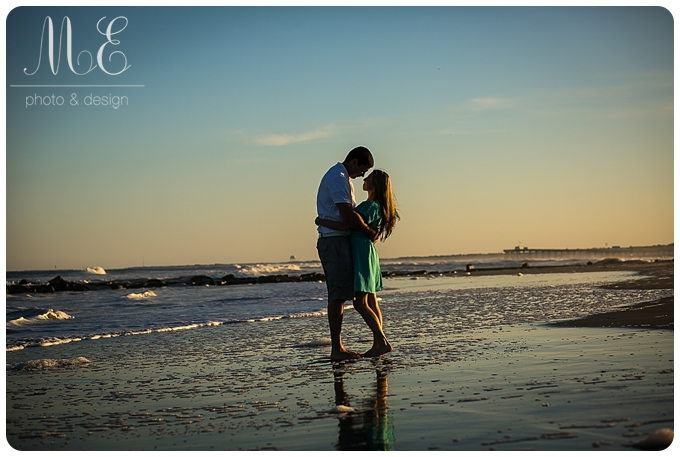 Ocean City New Jersey Engagement Session Photography ME Photo & Design Philadelphia Photographer