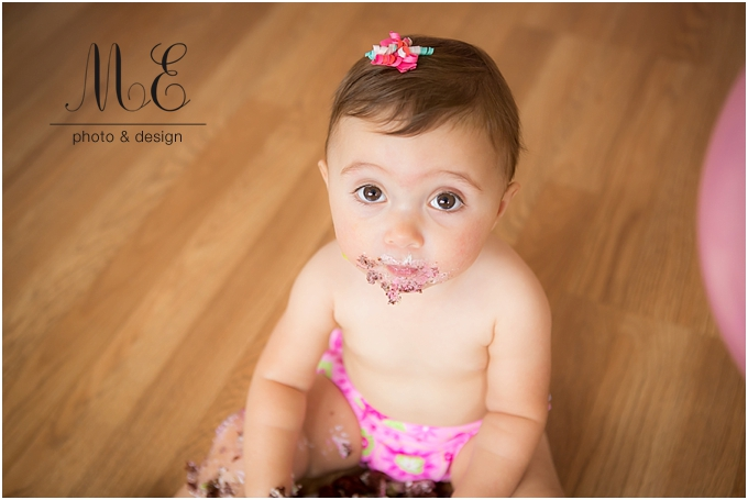 Philadelphia PA Cake Smash Photography ME Photo & Design