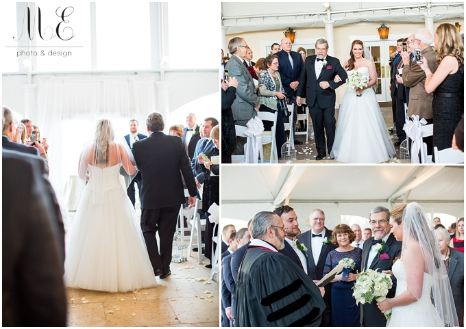 West Chester PA Wedding Photographer Penn Oaks Golf Club ME Photo & Design