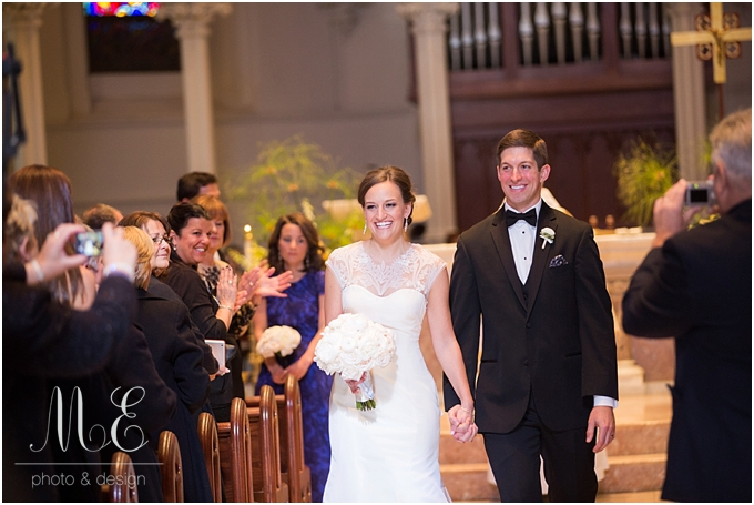 Villanova Wedding The Crystal Tea Room Philadelphia PA Wedding Photographer ME Photo & Design Media PA
