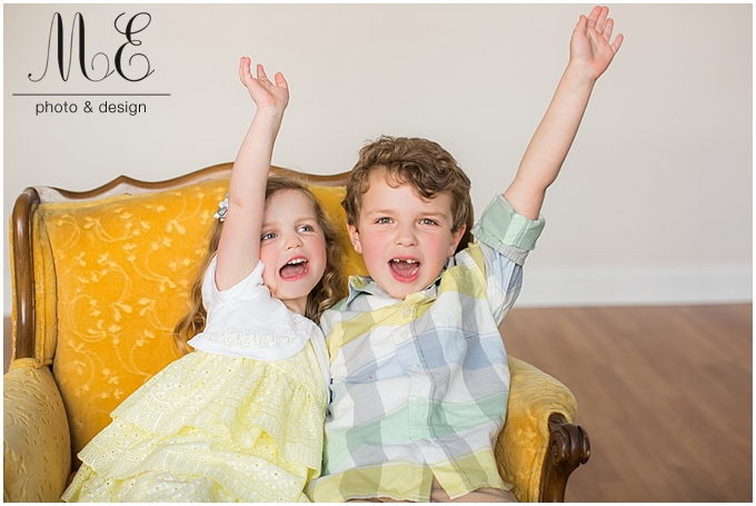 Media PA Children's Portrait Photographer | Sibling Session | Sammy & Maggie