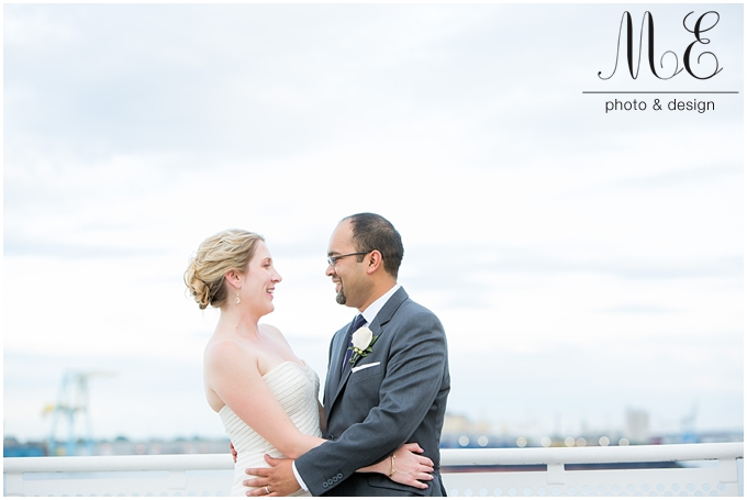 Seaport Museum Wedding Photography | Philadelphia Wedding Photography | Sagar and Carrie