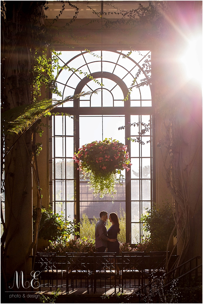 Longwood Gardens Engagement Session ME Photo & Design