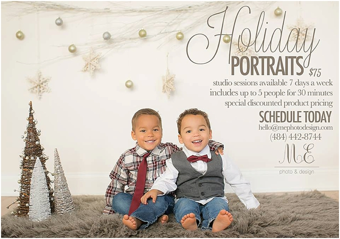 Philadelphia PA Holiday Portraits