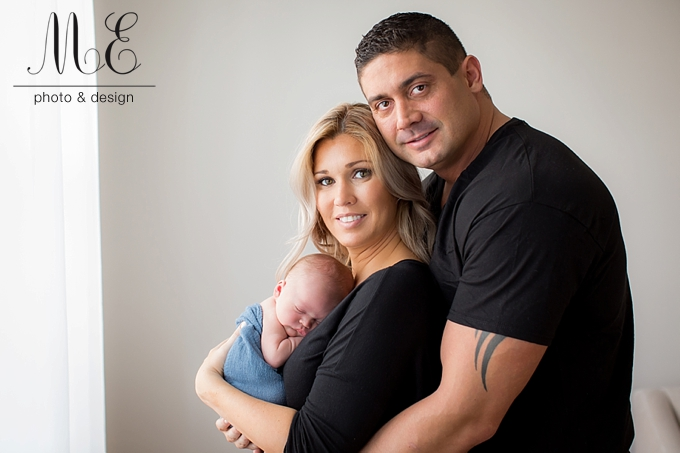 West Chester PA Newborn Baby Portrait Photography
