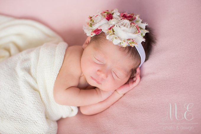Philadelphia Newborn Baby Portrait Photographer ME Photo & Design