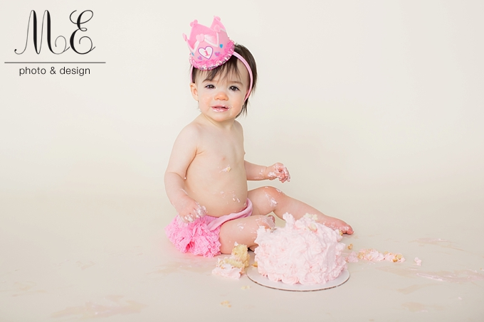 Media PA Cake Smash Portrait Photography ME Photo & Design