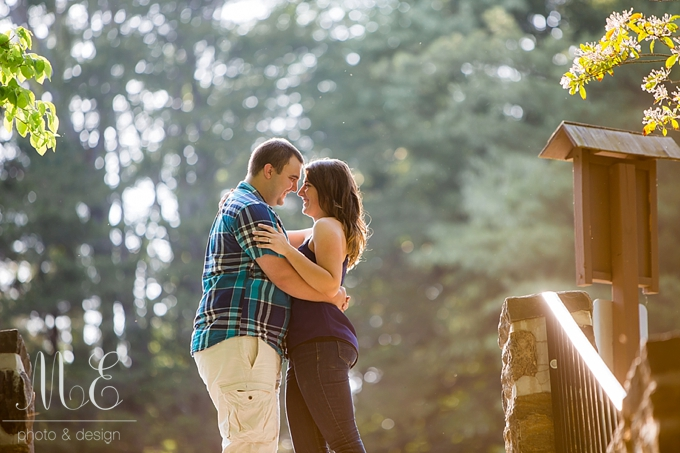 Ridley Creek State Park Media PA Engagement Session ME Photo & Design