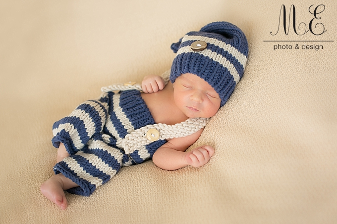 Philadelphia, PA Newborn Baby Portrait Photographer ME Photo & Design