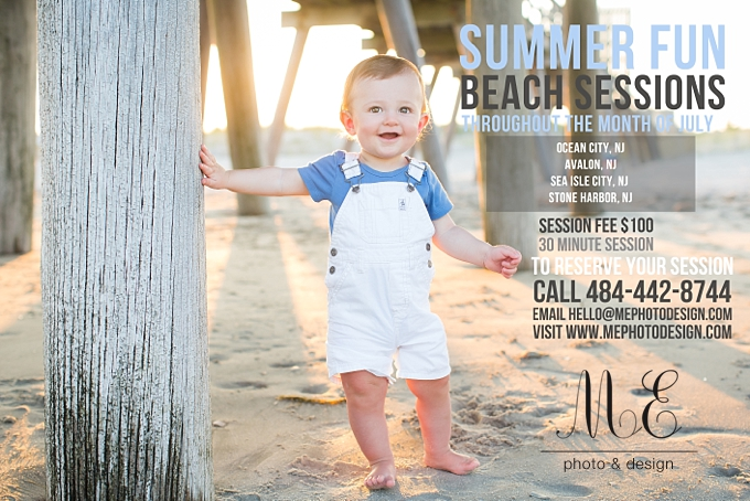 Ocean City NJ Beach Family Portraits ME Photo & Design