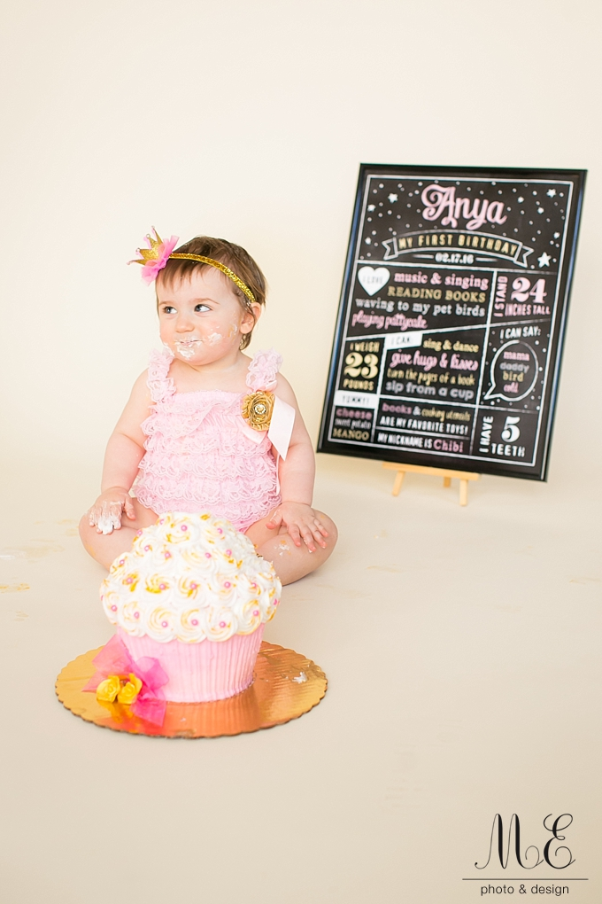 Philadelphia PA First Birthday Cake Smash Photography ME Photo & Design