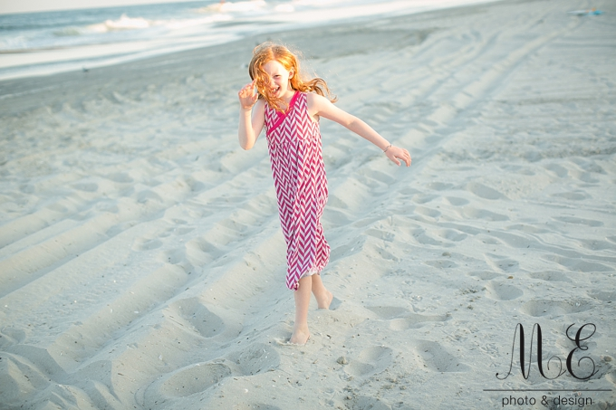 Avalon New Jersey Beach Family Portrait Session ME Photo & Design