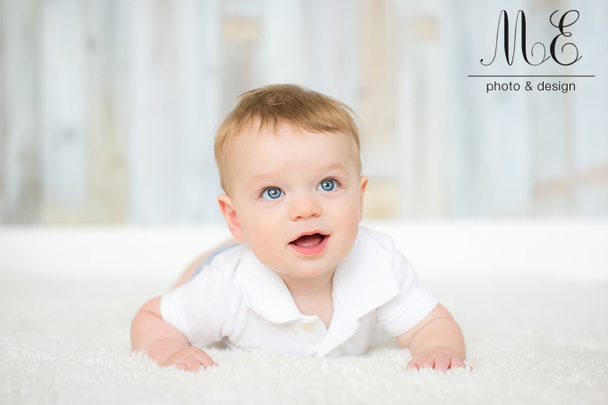 Media PA Six Month Children's Portrait Sessions ME Photo & Design