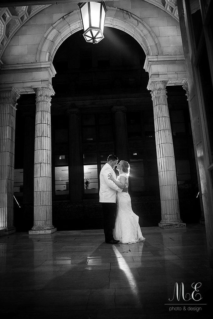 Ballroom at the Ben Philadelphia PA Wedding ME Photo & Design