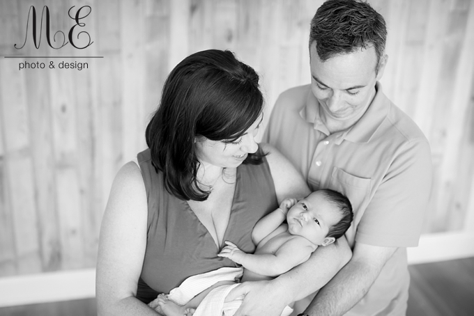 Philadelphia PA Newborn Baby Portrait Photography Session ME Photo & Design Photographer