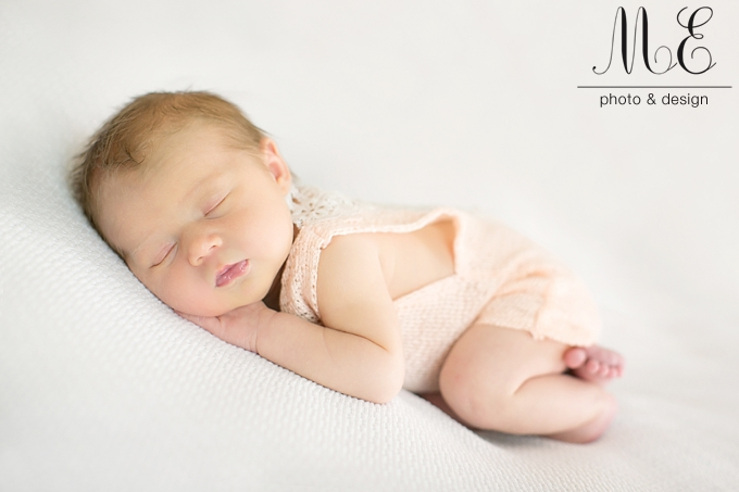 Philadelphia PA Newborn Baby Portrait Photography Session ME Photo & Design