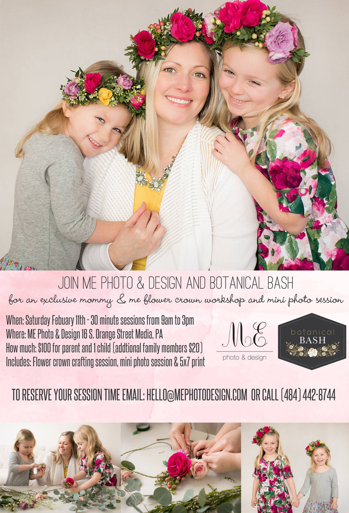 Philadelphia Flower Crown Workshop