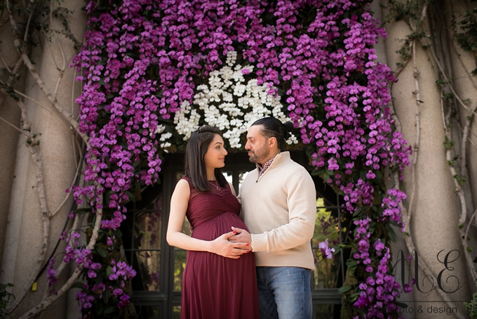 Longwood Gardens Maternity Session ME Photo & Design Photographer