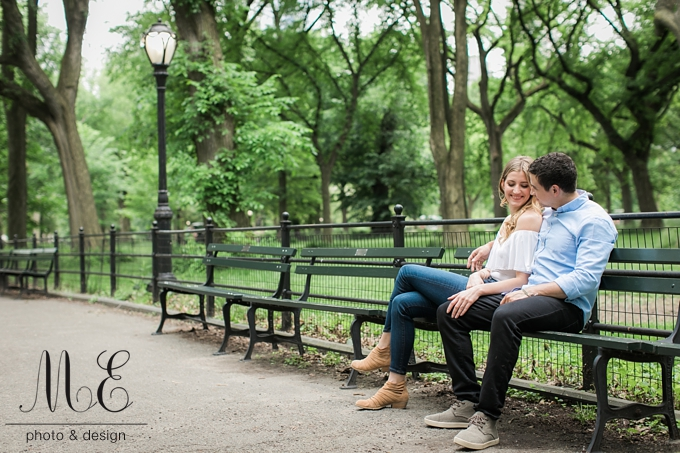 NYC Engagement Session ME Photo & Design