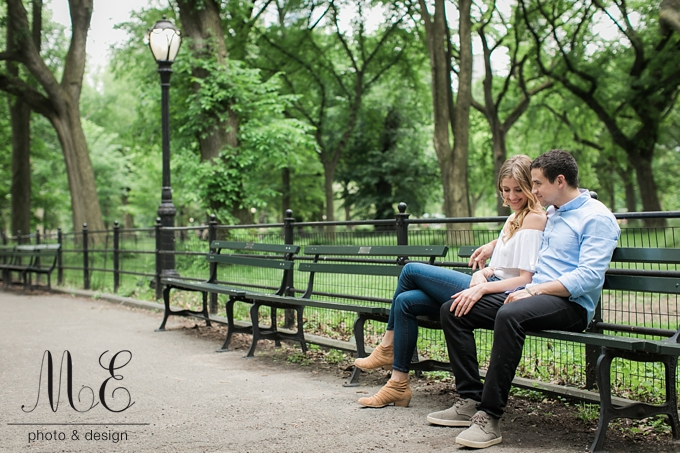 New York City Engagement Session ME Photo Design