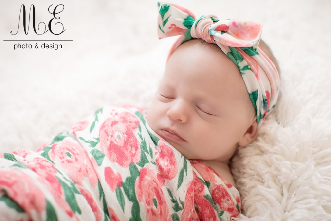 Philadelphia PA Newborn Baby Portrait Photographer ME Photo & Design