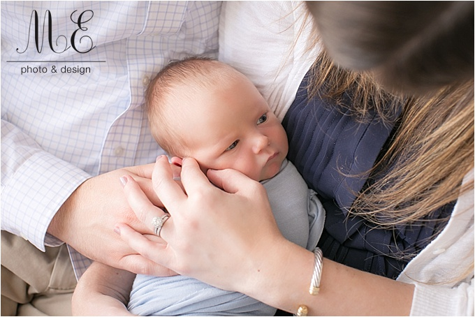 Philadelphia, PA Newborn Baby Portrait Session