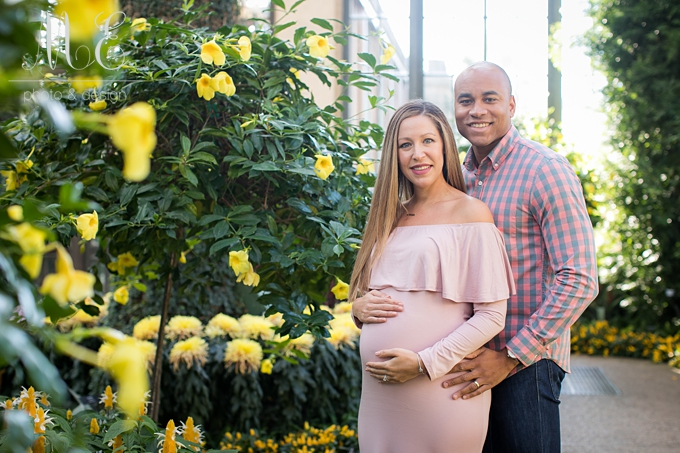 Longwood Garden's Maternity Session ME Photo & Design